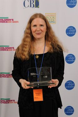 Suzanne And Her Award Suzanne Collins Hunger Games Collins