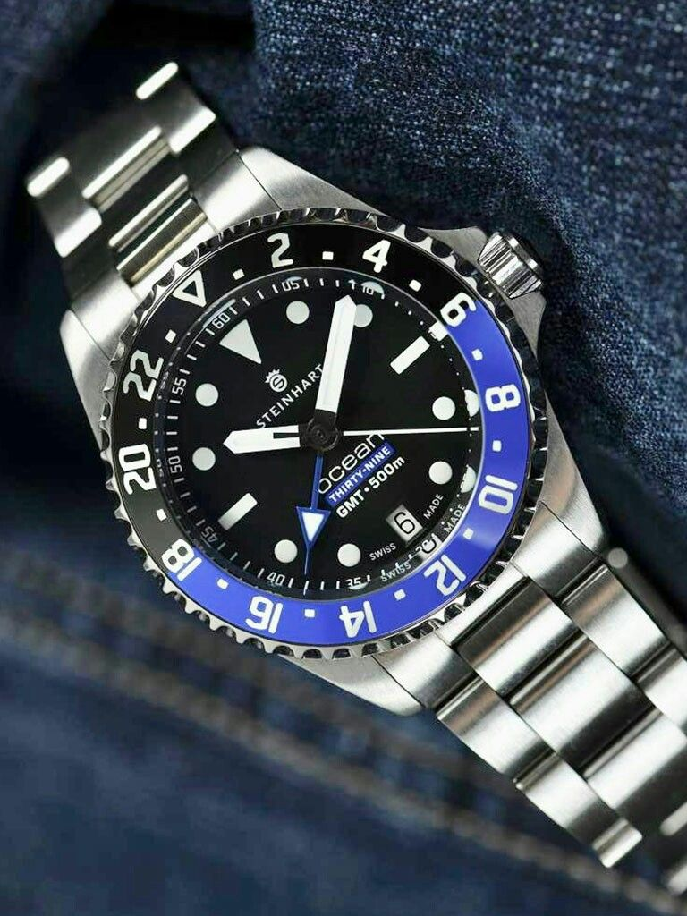 Steinhart Ocean 39 Gmt Premium 500 The Movement 2893 2 Premium Of The Swiss Company Eta Steinhart Watch Affordable Watches Rolex Watches