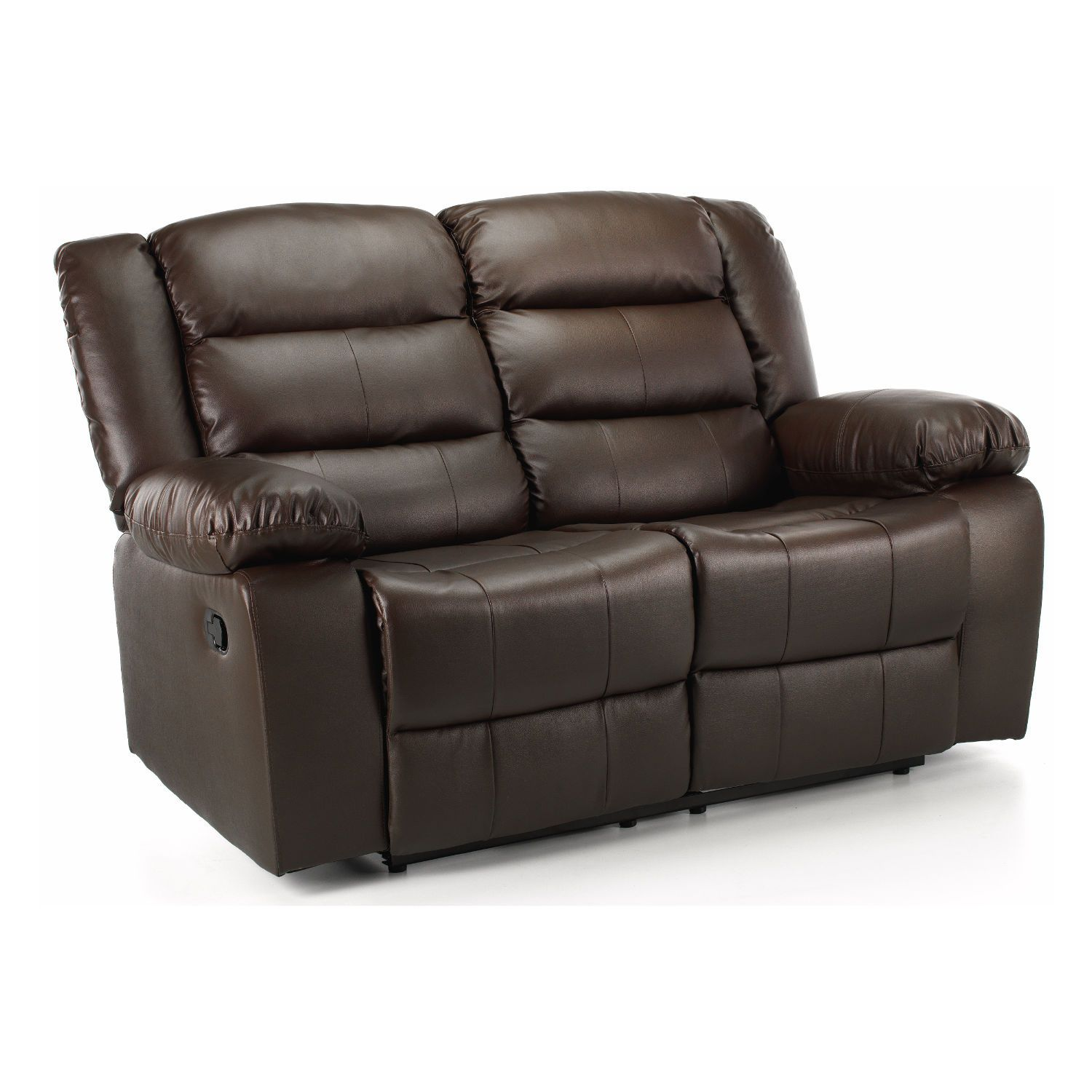 Whitfield 2 Seater Leather Reclining Sofa – Next Day Delivery ...
