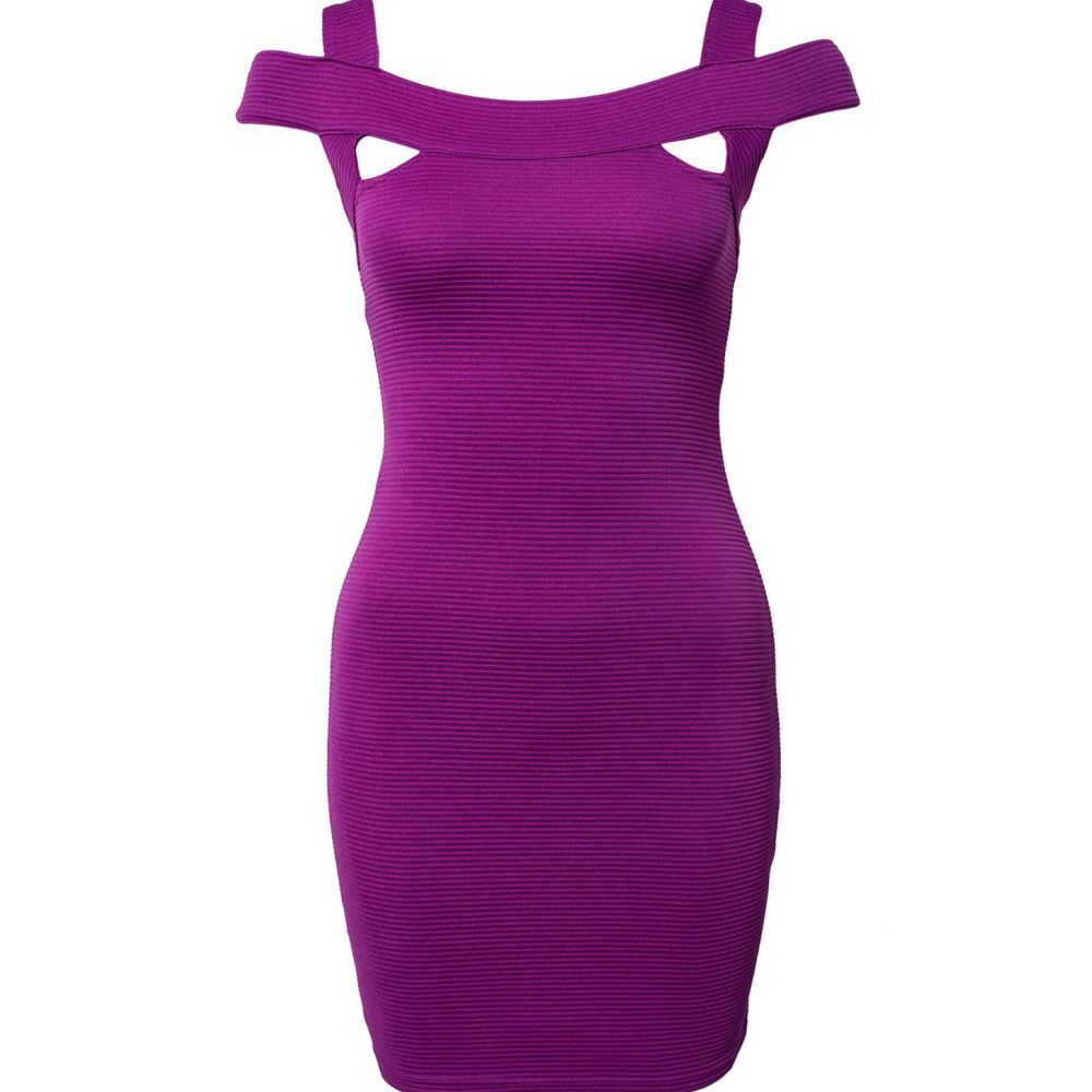Compra al mejor precio barato online Vestido corto Púrpura ...