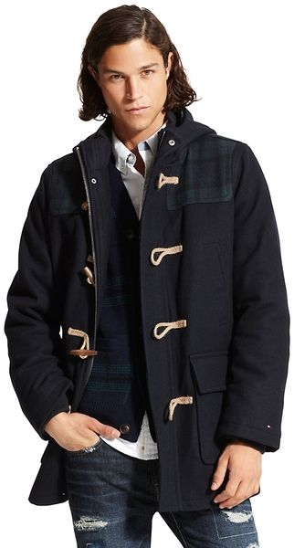 Tommy Hilfiger Toggle Jacket Lyst Spinach Other Cool Things