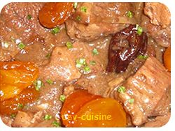 porc aux abricots secs