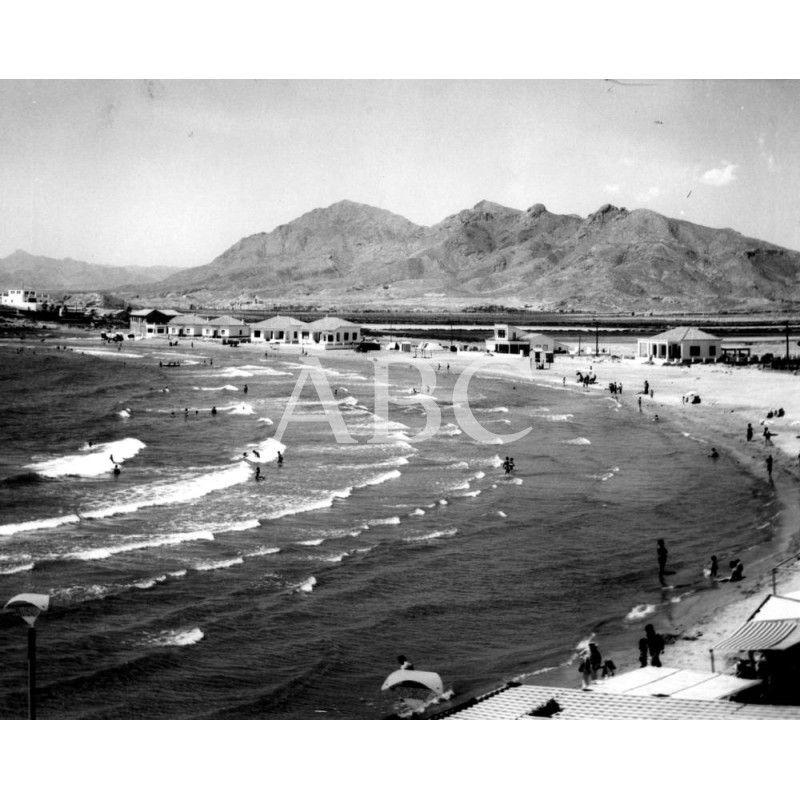 Vista General De La Playa De Mazarrón Murcia Archivo Abc Playa Murcia Aguilas Murcia