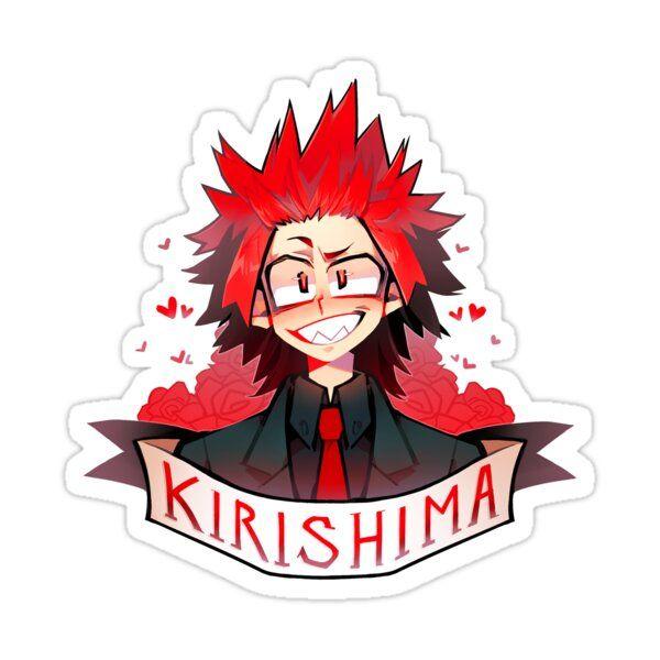 Kirishima Sticker by zukich