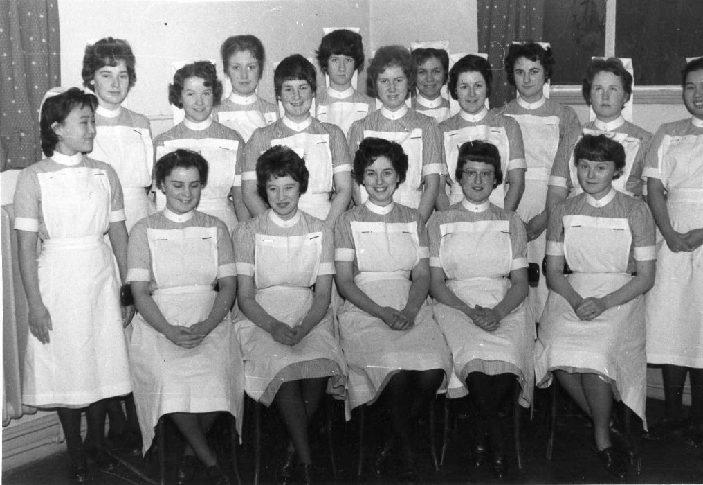 Northampton General Hosp Jan 1961 Intake Vintage nurse