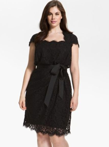 Tadashi Plus Size Black Lace Dress Proyectos Que Intentar