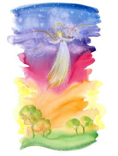 Angel of Love by Deborah Mores Art