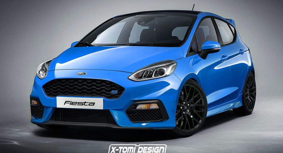 Here S The New Ford Fiesta Rs That Will Never Happen Ford Fiesta St Ford Fiesta Fiesta St