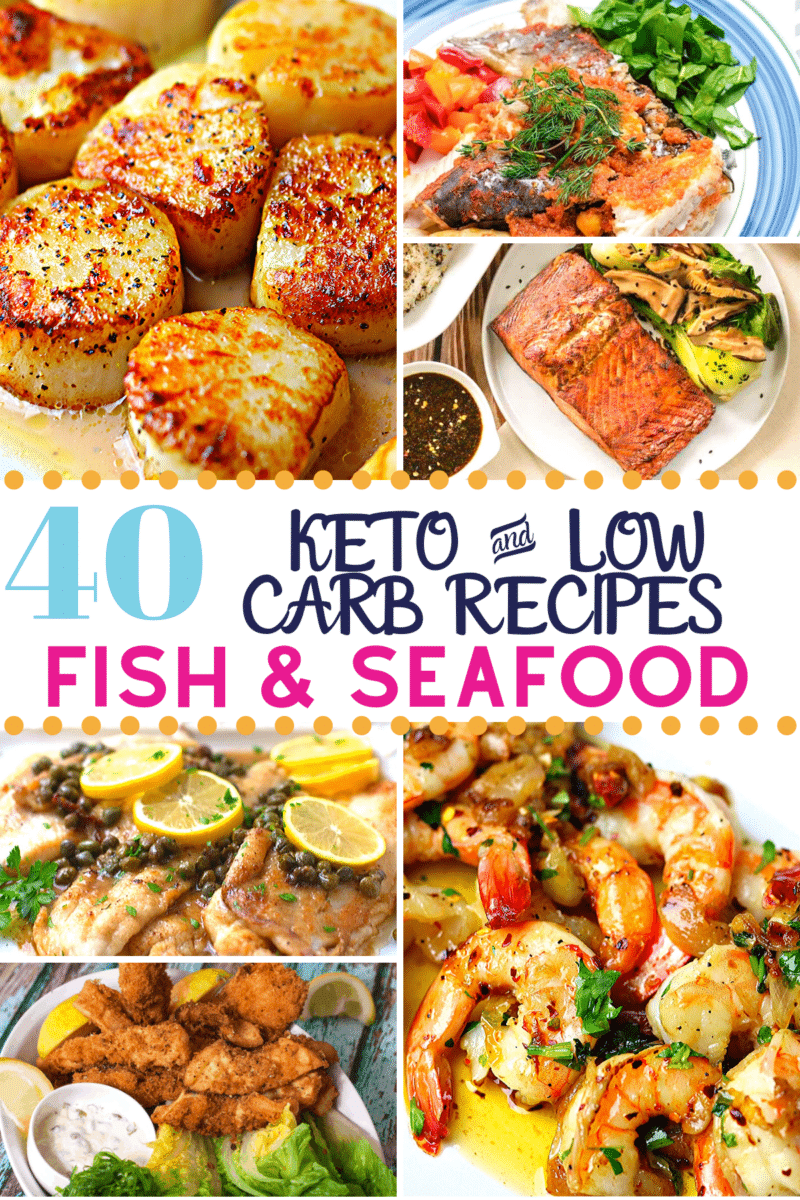 The Best 40+ Keto Fish & Seafood Recipes