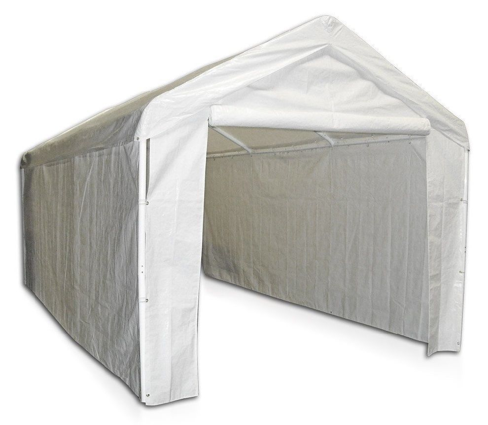 Outdoor Canopy Carport Car Shelter Enclosure Tent Auto Cover Kit Portable Garage Portable Carport Carport Canopy Carport