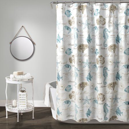 Harbor Life 72 Inchx72 Inch Shower Curtain Size 72 Inch X 72 Inch In 2020 Fabric Shower Curtains Beach Shower Curtains Curtains