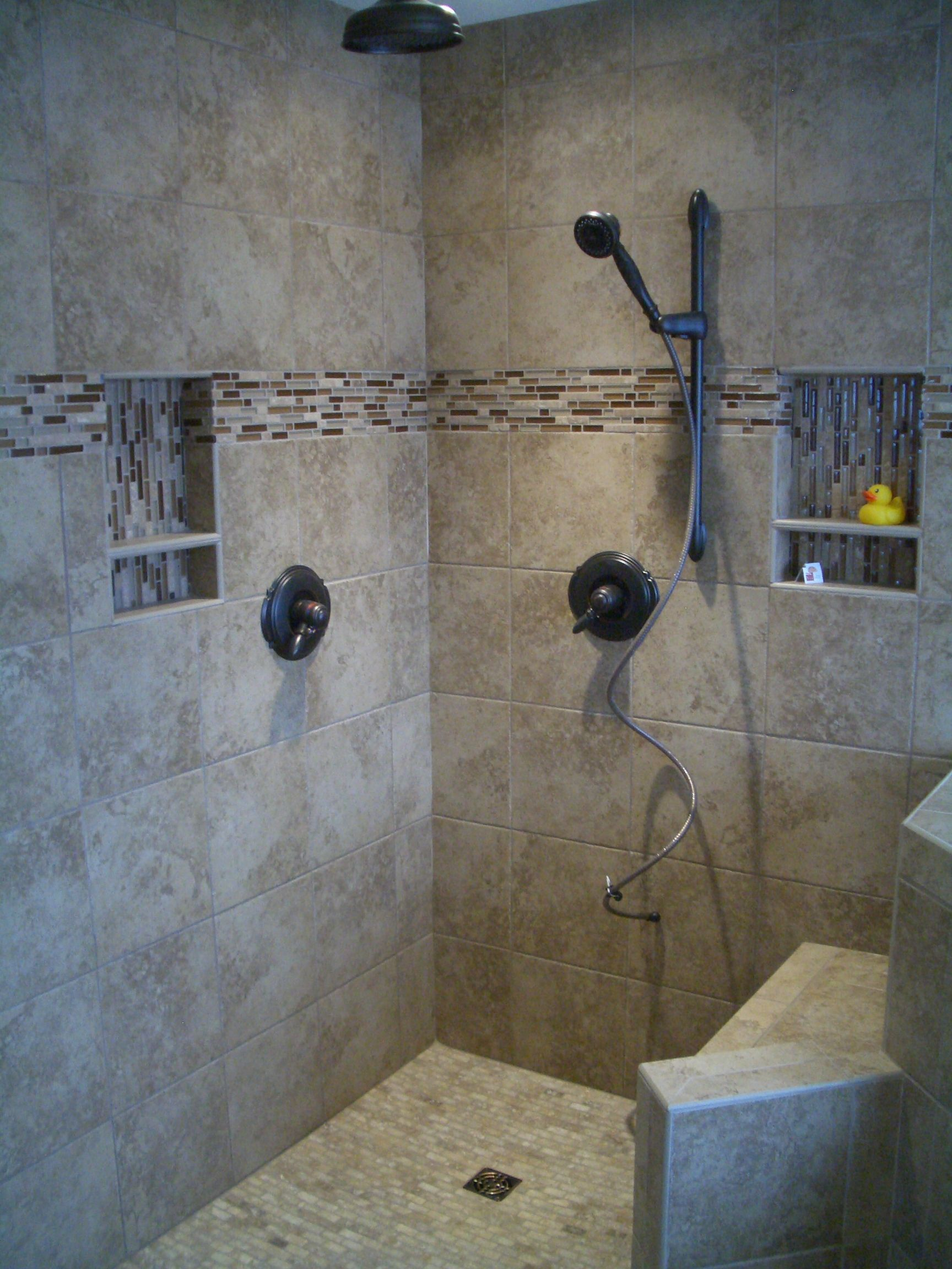 Stand Up Shower Designs Ideas Classical Look Stand Up Shower