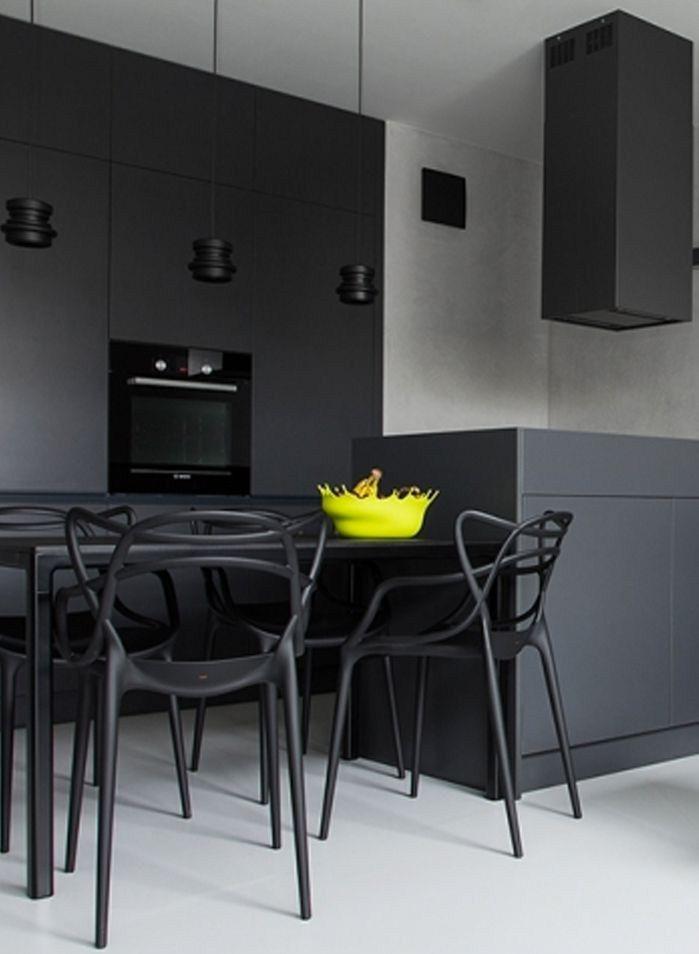 Fregaderos Negros en el Diseño de la Cocina   Fregadero negro ...
