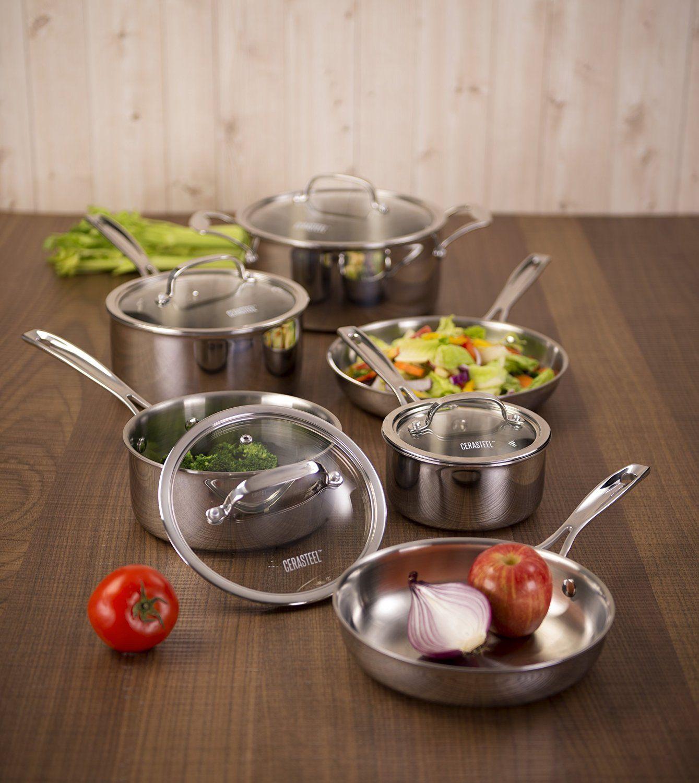 Cerastone ctpst10 10 piece cookware set