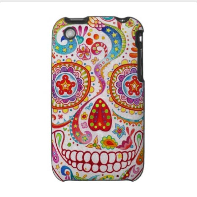 Sugar Skull iPhone case. THIS ONE. THIS ONE TRUMPS ALL.
