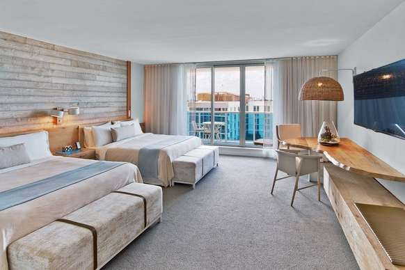 1 hotel south beach miami beach two king beds with