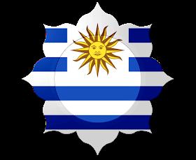 Monica Michielin Alfabetos Uruguay Flag Alphabet And Icons Png Flag Alphabet Uruguay Flag Flag