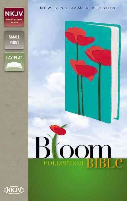 Bloom Collection Bible: New King James Version Italian Duo-Tone