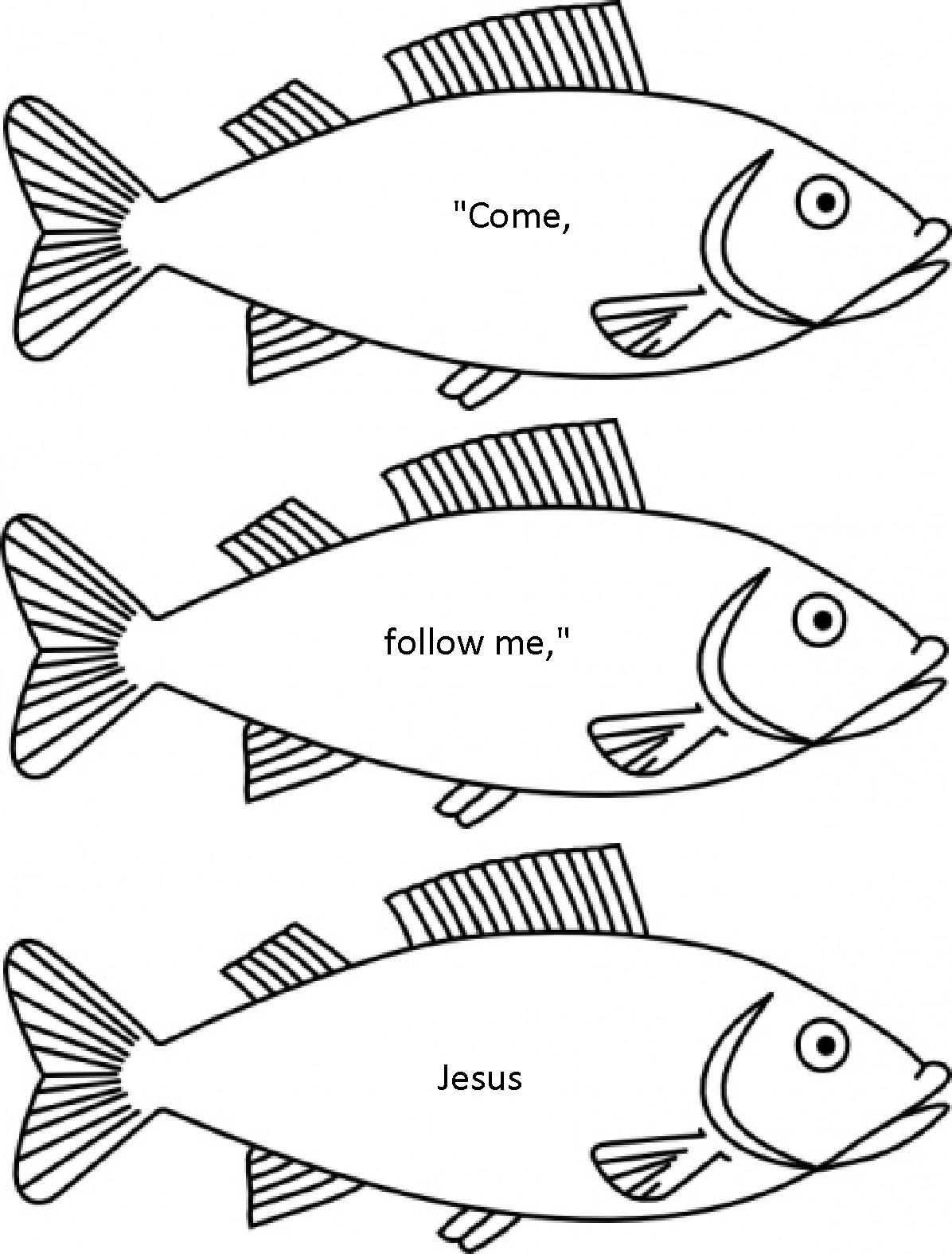 Jesus Chose His Disciples