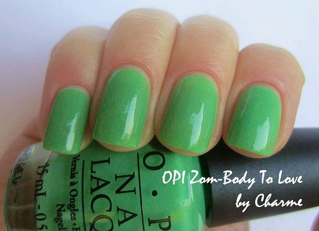 Opi Zom Body To Love Nails Opi Beauty Polish
