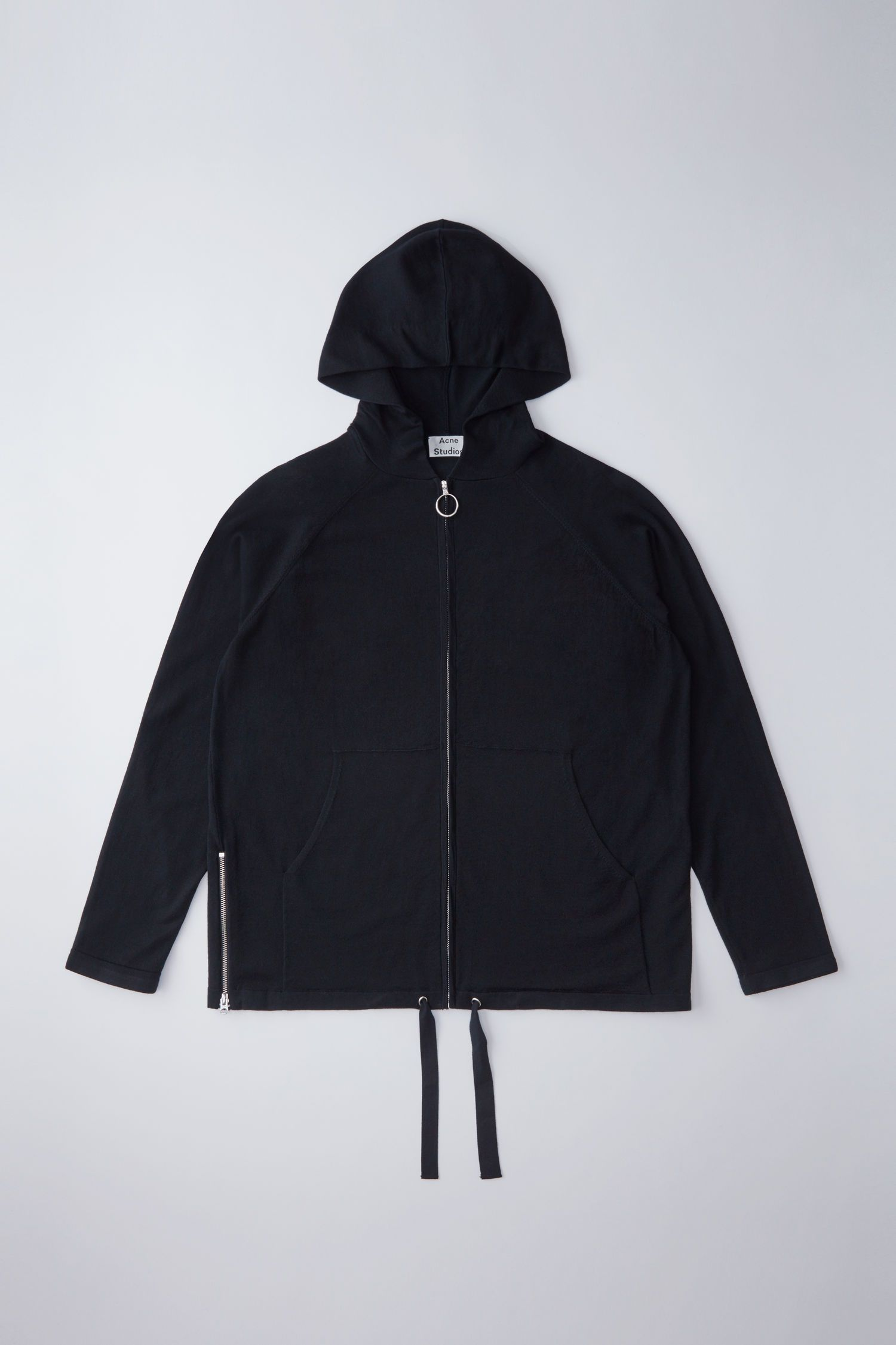 Acne Studios Kabel Black Hoodie | On Menswear | Pinterest | Acne studios