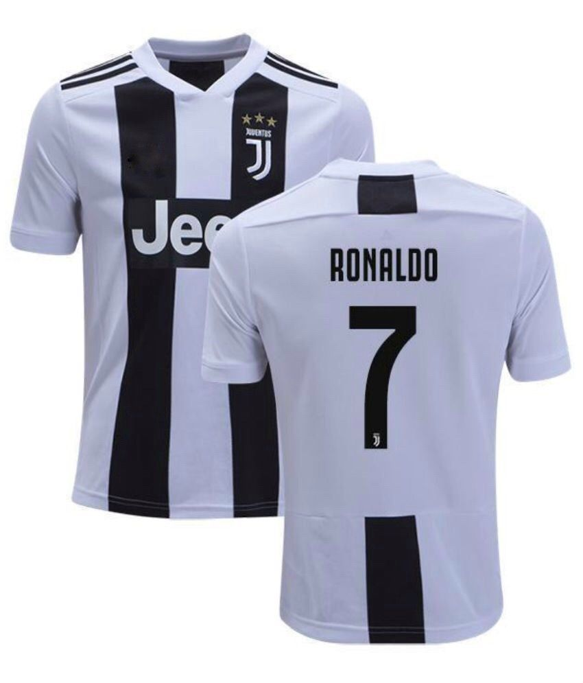 9394c081e9c Clothing 33485  Juventus Ronaldo  7 Home Soccer Football Jersey Soccer Men  Shirt -  BUY IT NOW ONLY   20.99 on eBay!