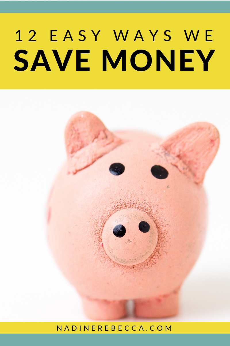 12 easy ways we save money tips to save money on typical family