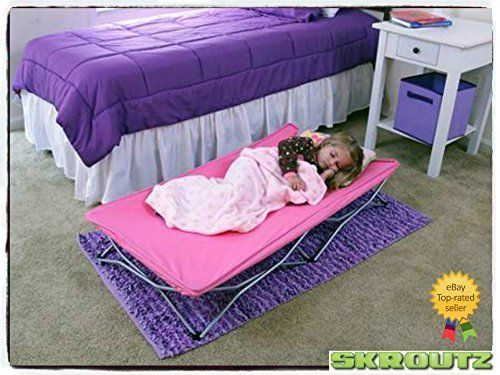 Portable Toddler Bed Cot Travel Kids Camping Folding New Baby Child Regalo Pink