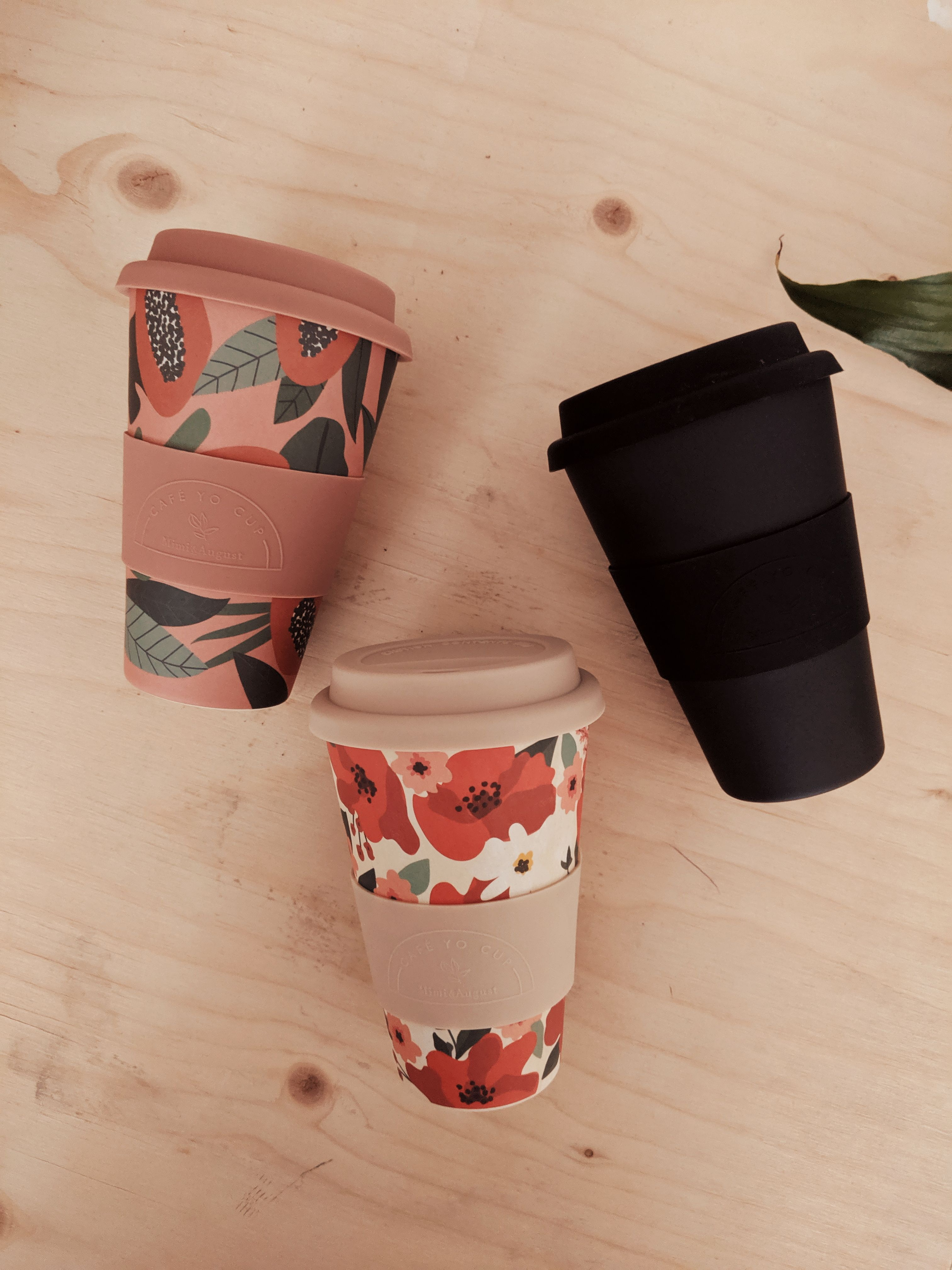 Replace disposable coffee cups. Use our eco reusable bamboo