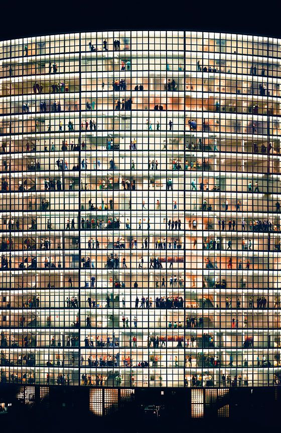 Gursky's May Day V (2006)