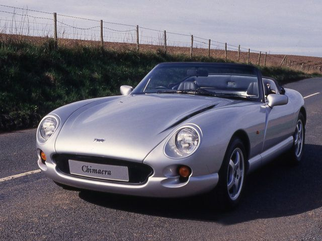 Tvr Chimaera If You Thought The Griffith Was Too Fierce The