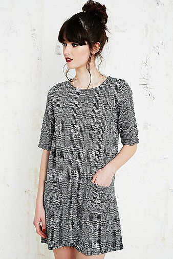 Cooperative Tartan Textured Dress £52.00