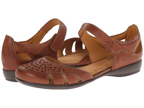 Womens Sandals Naturalizer Gail Cognac Leather