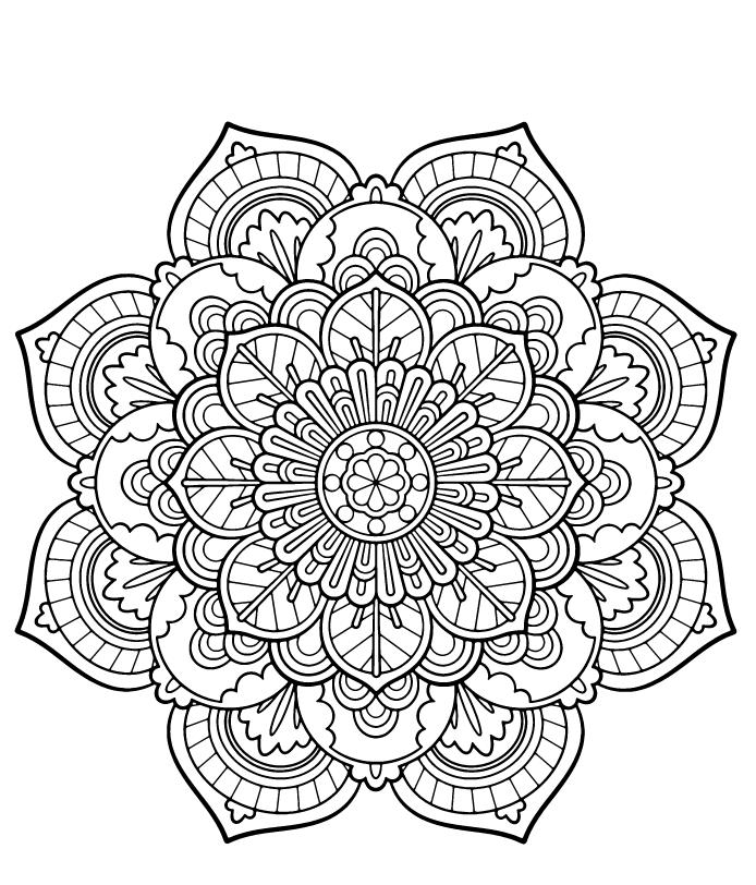 mandala ausmalbilder schwer  kinder ausmalbilder