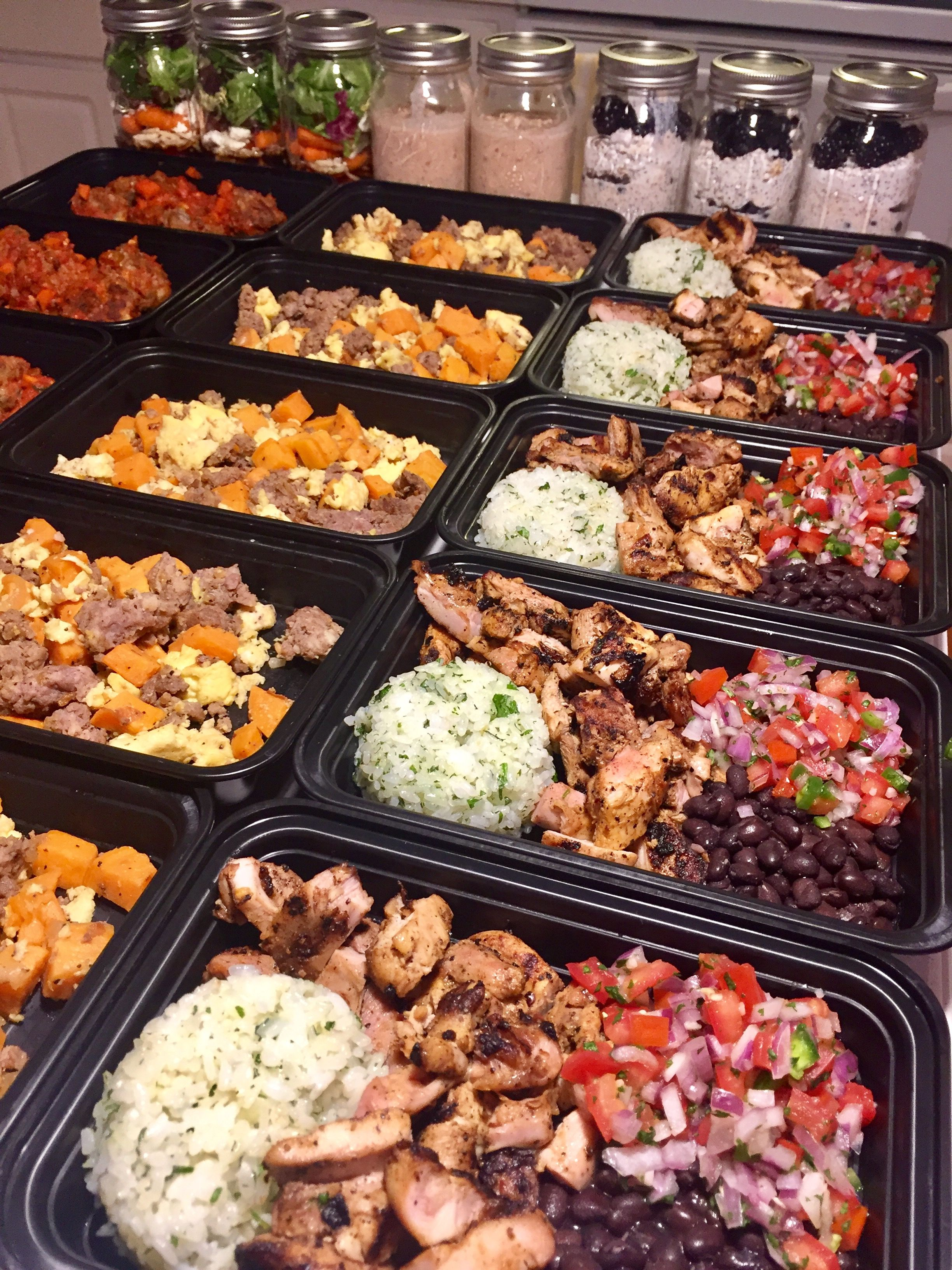 My largest prep to date bulking season is upon us