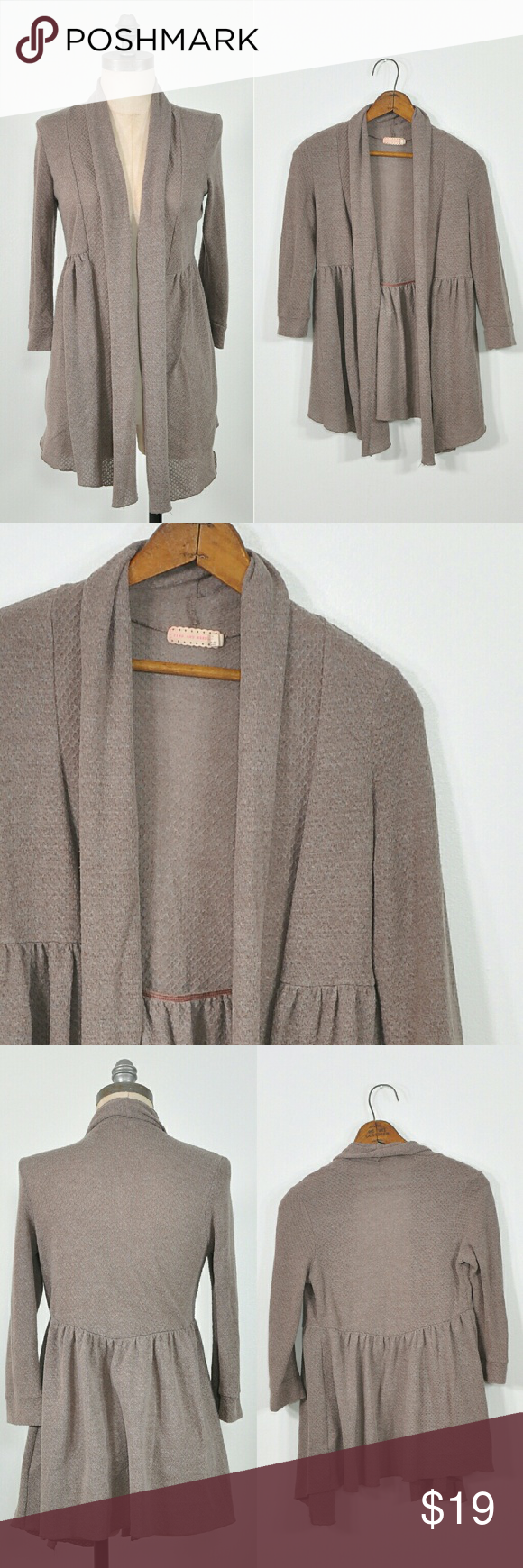 UO Brown Cardigan | Brown Wrap Cardigan | Urban outfitters ...