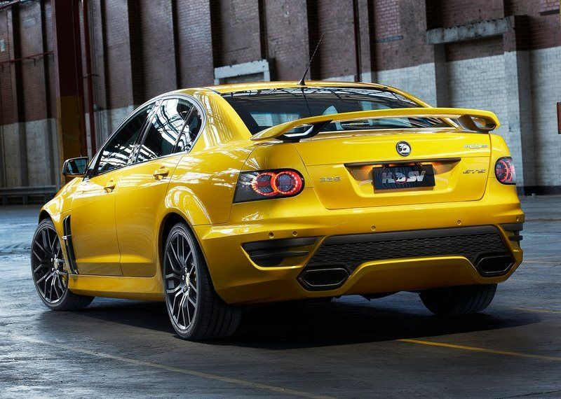 Avustralyann Nde Gelen Performans Otomobil Reticisi Holden