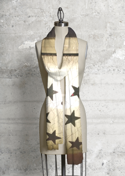 ~Twinkle Stars~ modal scarf  #VIDA #shopvida #onlineshopping #design #clothes #collection  #cloesart #scarf