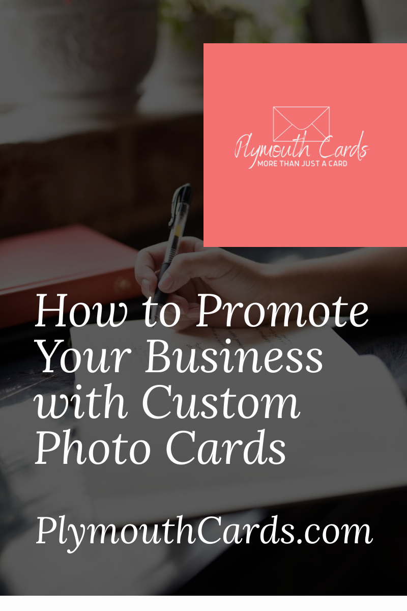 Promoting Your Business With Cards Photo Insert Cards Promote Your Business Custom Photo Cards