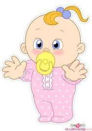 Resultado De Imagen Para Bebes Niñas Dibujos Baby Shower Baby