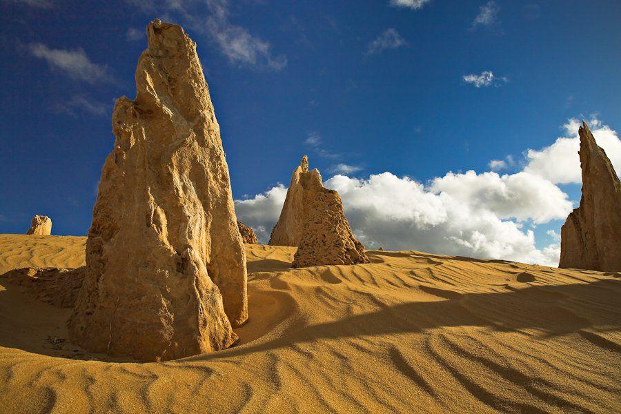Pinnacles and Clouds by Frank Richardson, Nambung, Western Australia