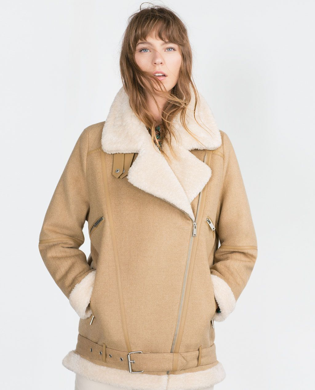 OVERSIZED JACKET-View all-Outerwear-WOMAN | ZARA United States ...