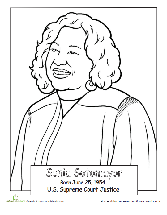 21 Printable Coloring Sheets That Celebrate Girl Power Printable Coloring Sheets Coloring Sheets Famous Hispanic Americans