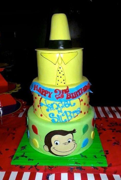 Curious George Birthday Cake - Cake by Karen