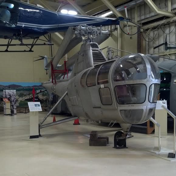 Here's one of our treasured #helicopters, the #Enstrom F-28A! It's just over 9 feet tall, 27 feet long, and has a rotor diameter of 32 feet. #americanhelicoptermuseum #helicopter #aviation #history #flight #Pennsylvania