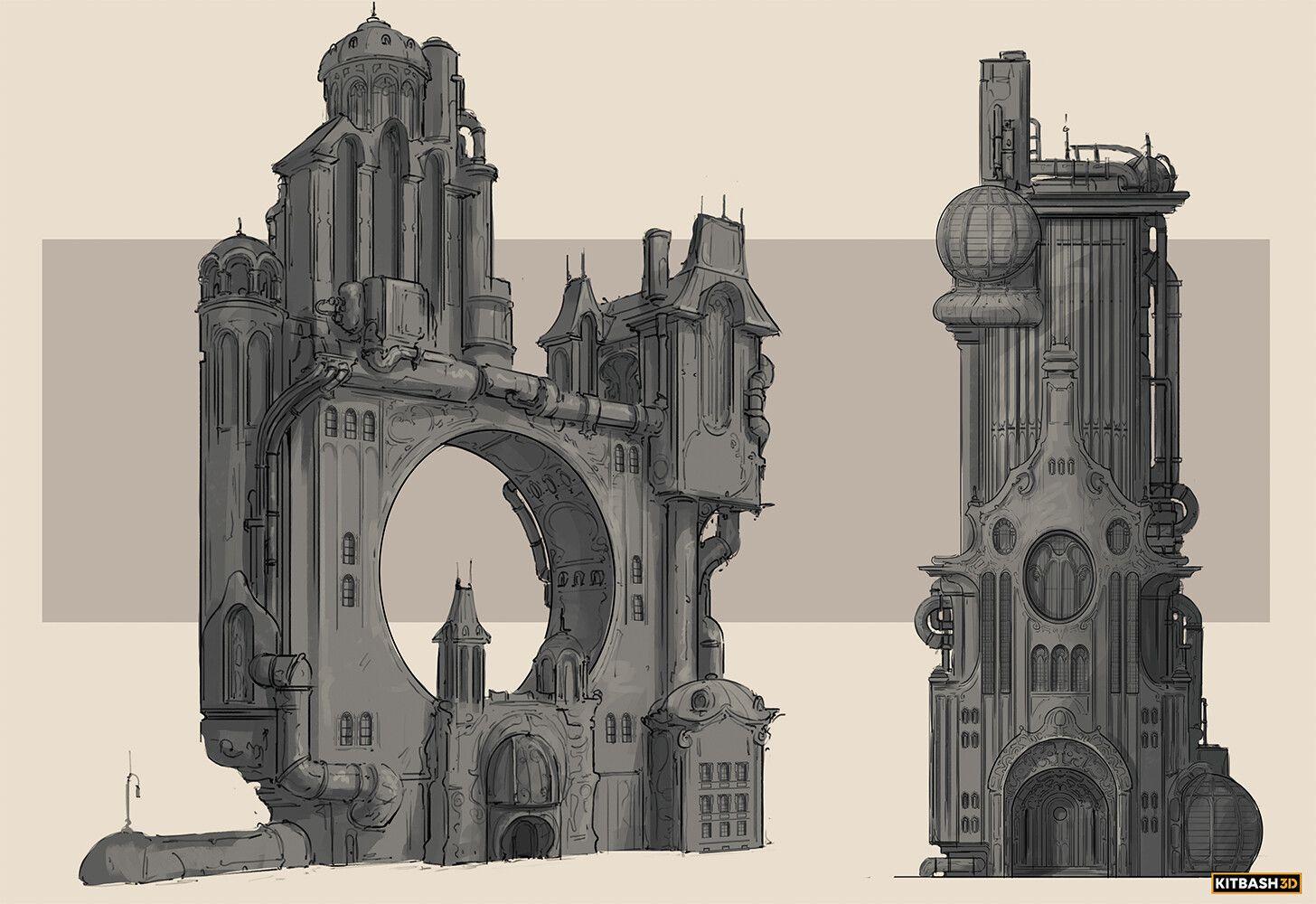 15++ Steampunk building ideas