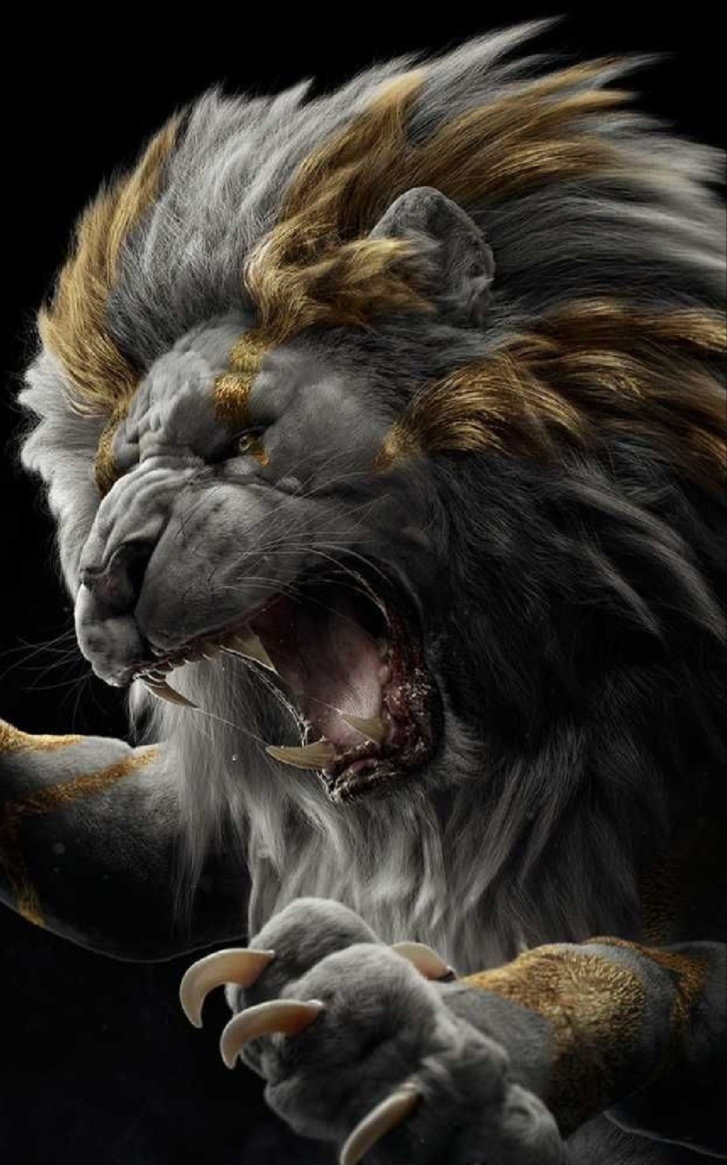 Pin by Iris Phillips on Fantasy 1 in 2020 Lion wallpaper
