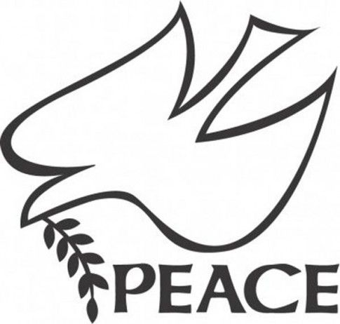 Peace Dove Template Printable Images & Pictures - Becuo ...