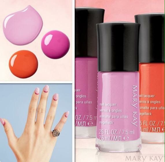 Limited-Edition† Mary Kay® Light, Reinvented Nail Lacquer, available ...