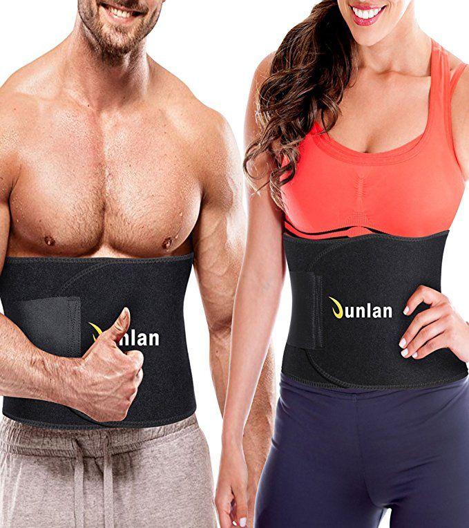 73d709ccf08 Best Workout Sweat Waist Trimmer Tummy Adjustable Ab Sauna Belt Trainer  Weight Loss Slim Wrap Back Support Fat Burner